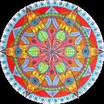 Mandala-Compass-Red-Flower-900x886px