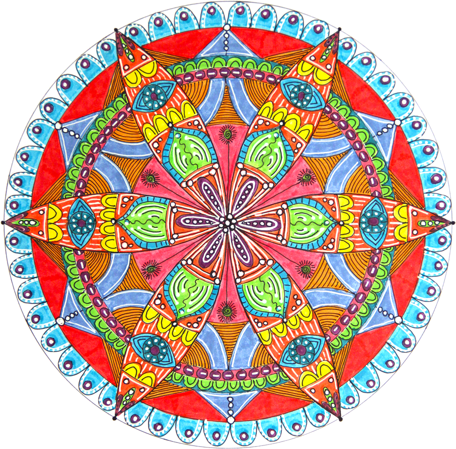 how to draw a mandala with a compass howtogetcreative com black and white flower clipart free to use black and white flower clipart free with name