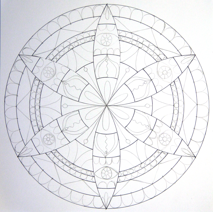 This is a photo of Resource Compass Drawing Patterns
