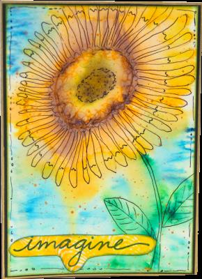 Sunflower Card - Imgine